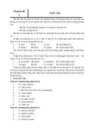 TỔNG ÔN TẬP CÁC CHUYÊN ĐỀ TIẾNG ANH - Lưu Hoằng Trí - File word (504 trang)
