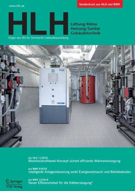 Blockheizkraftwerk-Konzept sichert effiziente Wärmeversorgung