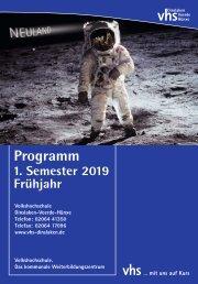 VHS_Programm 2019 I