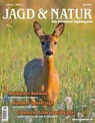 Jagd & Natur Ausgabe Mai 2019 | Vorschau