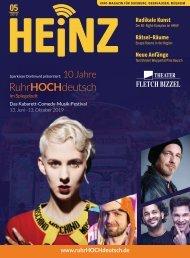 05_2019 HEINZ MAGAZIN Duisburg, Oberhausen, Mülheim