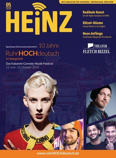 052019 Heinz Magazin Duisburg Oberhausen Mülheim