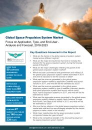 Space Propulsion System Market Trends