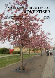 Lynton, Lynmouth and Exmoor Advertiser, May 2019