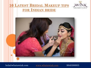 10 Latest Bridal Makeup tips for Indian bride-converted