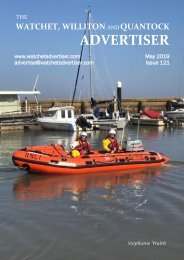 Watchet, Williton and Quantock Advertiser, May 2019