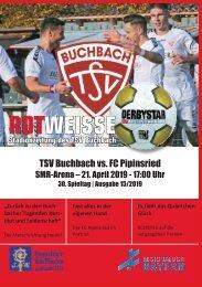 Stadionzeitung TSV Buchbach - FC Pipinsried