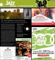 35. Kemptener Jazzfrühling