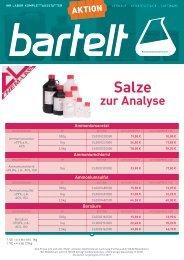 Bartelt Aktion Chem-Lab Salze