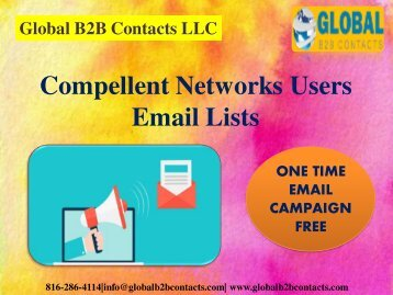 Compellent Networks Users Email Lists