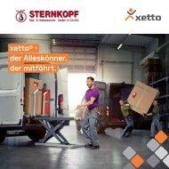 Xetto - Verladehilfe 1 Person für 250 kg