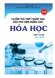 Hóa học 12 Trắc nghiệm vận dụng cao chủ đề Este (Đề bài kèm Lời giải)