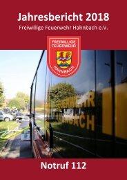 Jahresbericht 2018 - FF Hahnbach