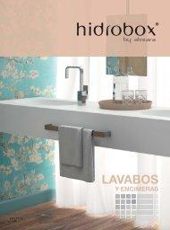 Hidrobox - Catálogo - 2018 - Lavabos y encimeras