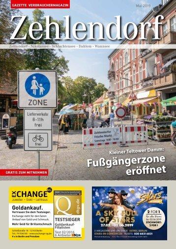 Gazette Zehlendorf Mai 2019