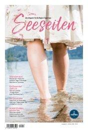 Seeseiten – das Magazin für die Region Tegernsee, Nr. 53, Ausgabe Sommer 2018