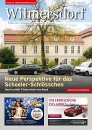 Gazette Wilmersdorf Mai 2019