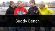 Buddy Bench for Schools and Playground