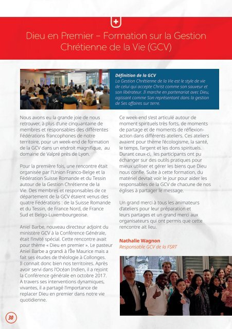 Adventiste Magazin n°19 / Avril-Mai-Juin 2019
