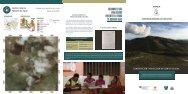 Conservación y protección de fuentes de agua Leco de Cuba