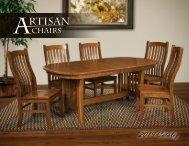 2019 Artisan Chairs Catalog