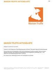 Aktionsliste_MaisonTruffe