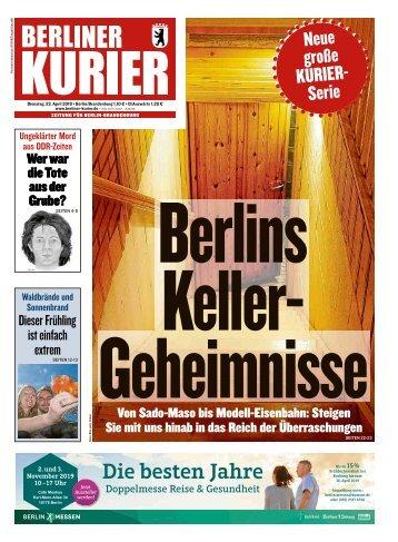 Berliner Kurier 23.04.2019