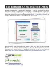 Buy Bortenat 3.5 mg Injection Online