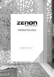 Zenon - Catálogo - 2016 - Solid Surface