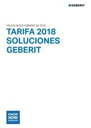 Geberit - Catálogo + Tarifa - Bastidores