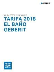 Geberit - Tarifa - 2018 - baño