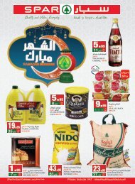 SPAR flyer 24 to 30 Apr2019