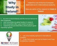 Know the Top Reasons to Study in Ireland for International Students