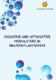 Oxidative And Nitrosative Modulators In Neuroinflammation