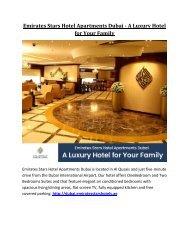 City Premiere Marina – A Luxurious Hotel in Dubai for Family