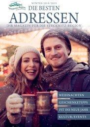Die Besten Adressen - Ihr Magazin für die Stecknitz- Region Dezember 2018