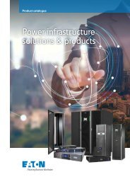 EATON-POWER-QUALITY_Catalog_Power-infrastructure_03-19_EN