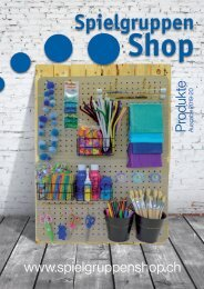 Spielgruppen Shop Katalog Produkte 2019