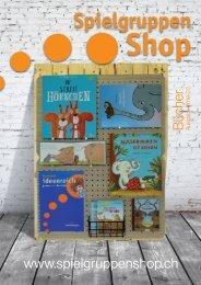 Spielgruppen Shop Bücher Katalog 2019