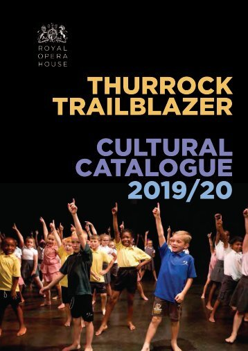 Thurrock Trailblazer Cultural Catalogue 2019-20