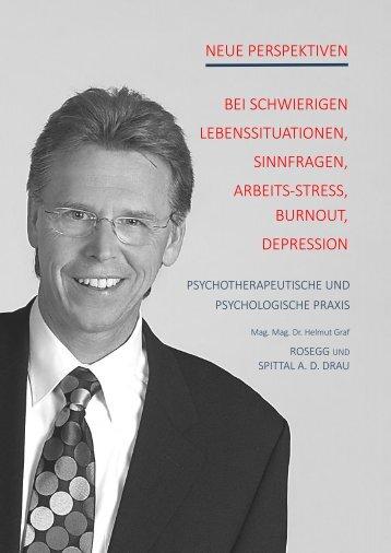 Psychotherapie und Psychologie - Helmut Graf