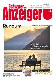 Schwyzer Anzeiger – Woche 17 – 26. April 2019