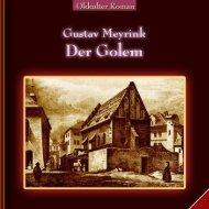 Gustav-Meyrink DER GOLEM