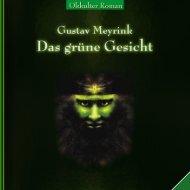 Gustav-Meyrink DAS GRUENE GESICHT