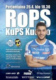 Käsiohjelma RoPS - KuPS