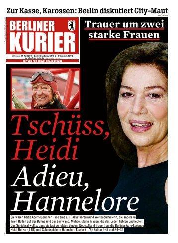 Berliner Kurier 24.04.2019