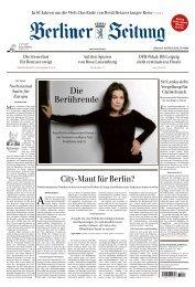 Berliner Zeitung 24.04.2019