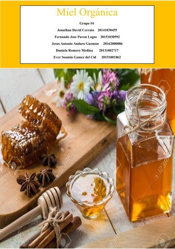 Miel Organica buena
