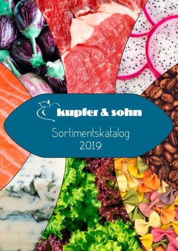 Kupfer & Sohn Sortimentskatalog 2019
