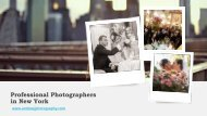 Professional Photographers in New York - Andrew J Photography